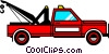 Tow trucks Vector Clipart picture