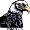 Vector Clip Art graphic  of a Eagle