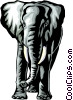 Elephant Vector Clipart image