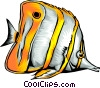 Tropical fish Vector Clip Art image