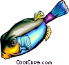 Tropical fish Vector Clipart illustration