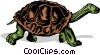 Vector Clipart graphic  of a Tortoise