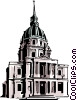 Cathedral Vector Clipart picture