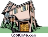 House Vector Clipart illustration