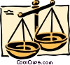 Sign of the zodiac - Libra Vector Clipart illustration