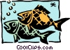 Vector Clip Art image  of a Sign of the zodiac - Pisces