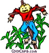 Scarecrow Vector Clipart picture