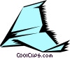 Paper airplanes Vector Clipart illustration