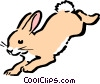 Vector Clip Art image  of a Cartoon rabbit