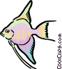 Cartoon fish Vector Clipart picture