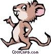 Cartoon mouse Vector Clip Art graphic