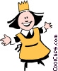 Vector Clip Art graphic  of a Cartoon chef