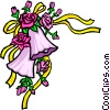 Vector Clipart picture  of a Wedding bells