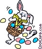 Vector Clip Art picture  of a Easter Bunny