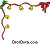Christmas decorative ribbon ba