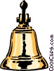 Brass bell Vector Clipart picture