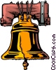 Liberty bell Vector Clipart picture