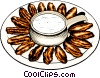 Chicken Wings Vector Clipart picture