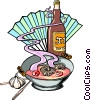 Vector Clipart graphic  of a Japanese Soup