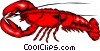 Vector Clipart picture  of a Lobster
