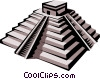 Inca Temple Vector Clipart picture
