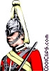 British Guard Vector Clipart picture