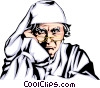 Vector Clipart graphic  of a Ebenezer Scrooge
