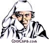 Ebenezer Scrooge Vector Clip Art graphic
