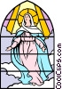 Blessed Assumption Vector Clipart illustration