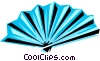 Cool fan Vector Clip Art image