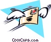 Cool mail Vector Clipart picture