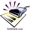 Scanner Vector Clipart picture
