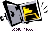 Vector Clipart graphic  of a Safe