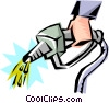 Cool gasoline Vector Clipart illustration