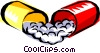 Cool pills Vector Clipart picture