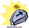Coffin Vector Clipart picture