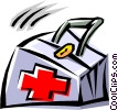 Cool first aid bag Vector Clip Art picture
