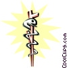 Vector Clipart illustration  of a Cool medical symbols