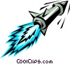 Missile Vector Clipart graphic