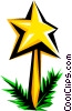 Vector Clipart picture  of a Christmas star