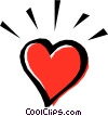 Vector Clip Art image  of a Heart symbol