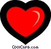 Vector Clip Art image  of a Symbol of a heart