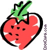 Strawberries Vector Clipart picture