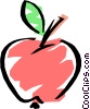 Cool apple Vector Clipart illustration