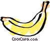 Cool banana Vector Clipart illustration