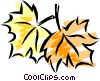 Autumn leaves Vector Clipart image
