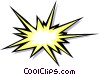 Explosion Vector Clipart picture