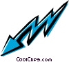 Vector Clipart illustration  of a Cool arrows