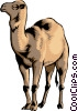 Vector Clipart illustration  of a Camel