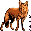 Fox Vector Clip Art graphic